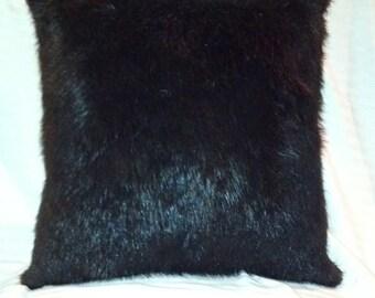 Genuine American Beaver Dyed Black
