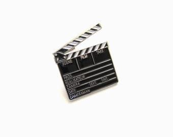 Clapperboard, Lapel pin