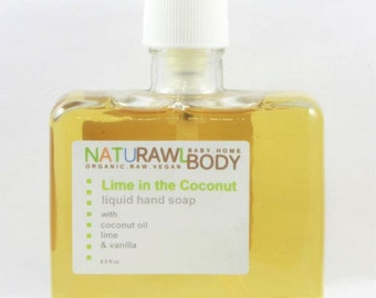 Lime in the Coconut Liquid Hand Wash - 8.5 oz