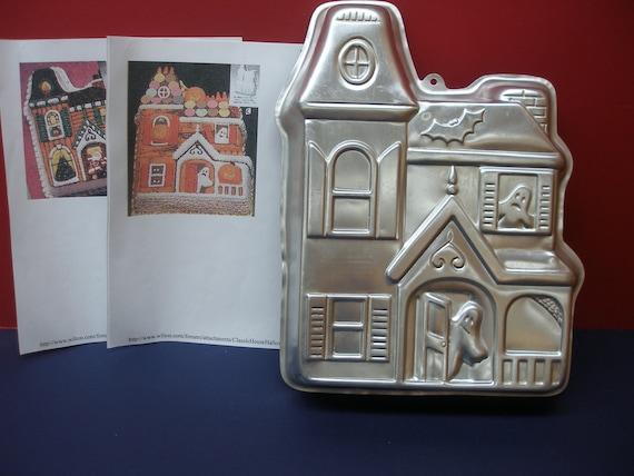 Spooky Halloween Haunted House Cake Pan Wilton Pan Mold For