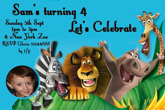 Boys Party Invitation with awesome invitation example