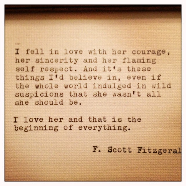 F Scott Fitzgerald Love Quotes F Scott Fitzgerald Fam...