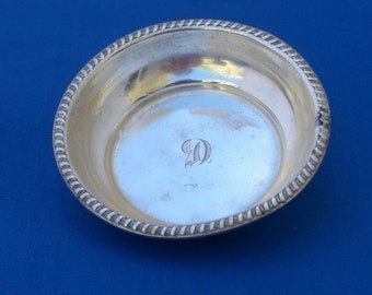 Pin Tray - Sterling Silver - Vintage