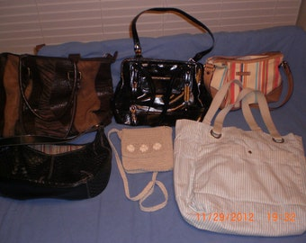 Lot of Purses & Totes