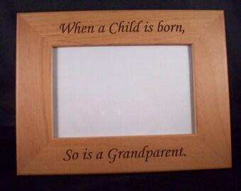 4 x 6 Grandparent picture frame