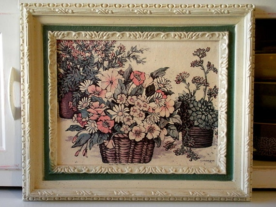 Home Interiors And Gifts Framed Art Vintage home interiors and gifts