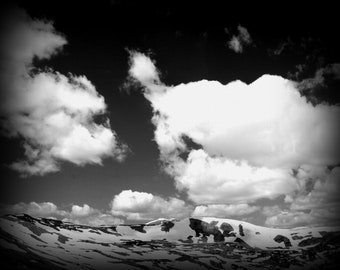 Landscape Photography - Loveland Pass Sky - 8x10 Print - Photography Print