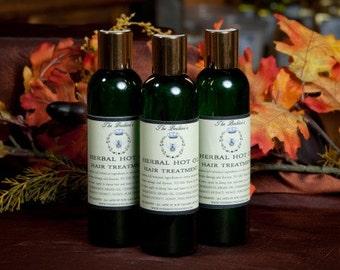 Herbal Hot Oil Hair Treatment