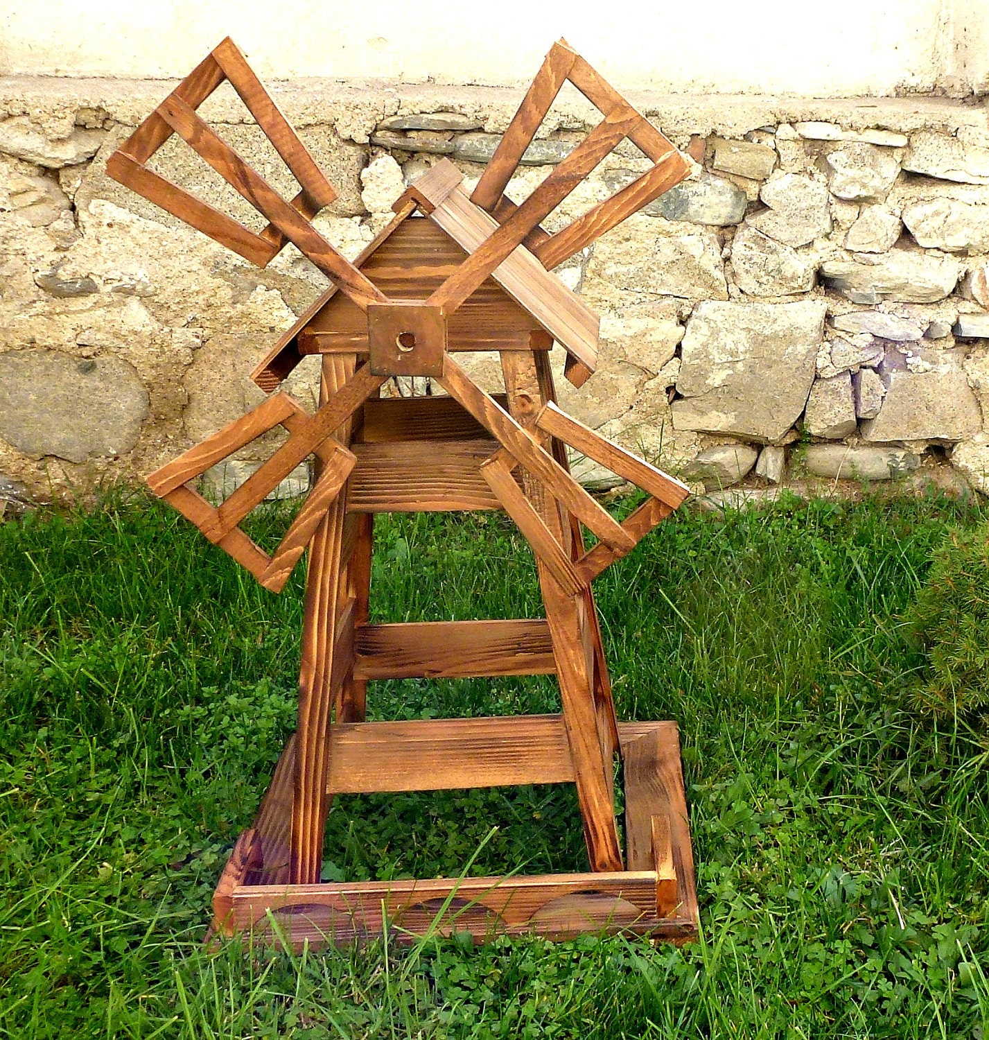 Cool Wooden windmill plans ~ George Mayda