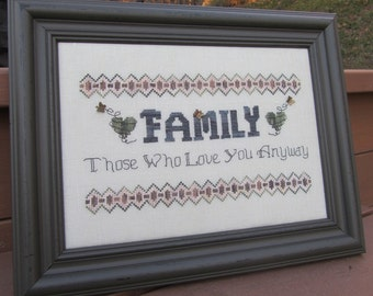 Family-Those Who Love You Anyway