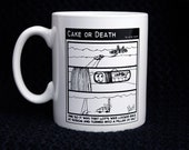 Cake or Death Cartoon Mug - Lot's Wife