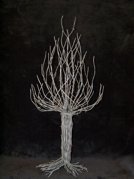 Unavailable listing on etsy for Wire yard art