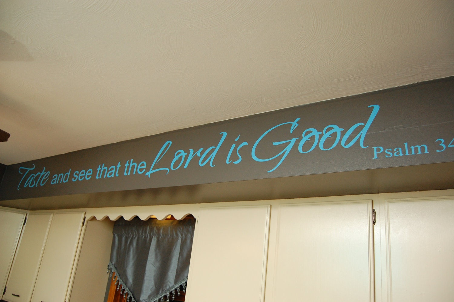 Psalm  Kitchen Decal Bible Verse Decal Marriage Wall - Bible verse wall decals