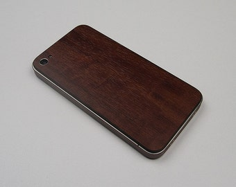 New Style For Apple iPHONE 4 4S Royal Primavera Wood Protector Decal Skin Body Wrap 6pcs