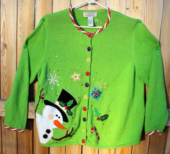 Eye Gouging Ugly Christmas Sweater