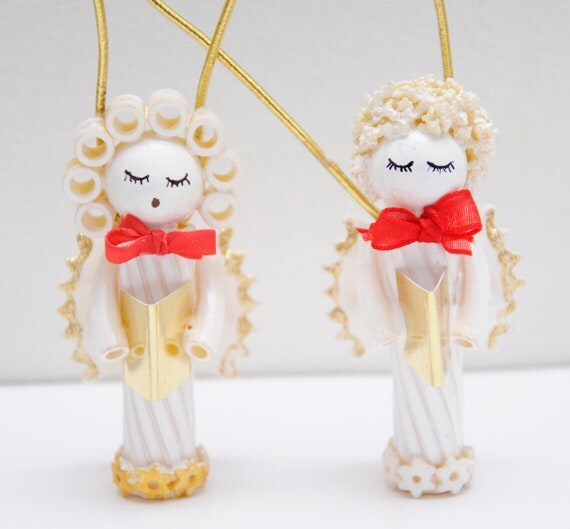 Items Similar To Pasta Angels Christmas Tree Ornament On Etsy