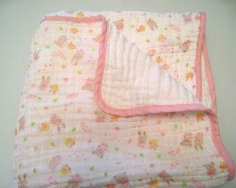 6 Layer Baby Muslin Blanket / Toddler Blanket - 40 *40 inch
