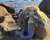 Birdie, the Sky Mermaid Doll - Cute Mermaid Plushie