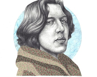 Oscar Wilde Limited Edition Print A4