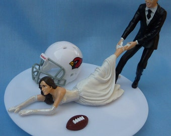 Wedding Cake Topper Pittsburgh Steelers Football Themed By