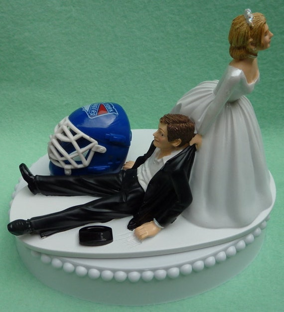 new york themed wedding cake toppers wedding cake topper new york rangers ny hockey themed w 17834