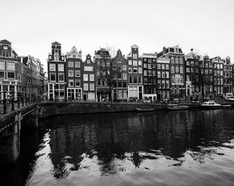 Amsterdam Canal Photo - The Netherlands, Europe