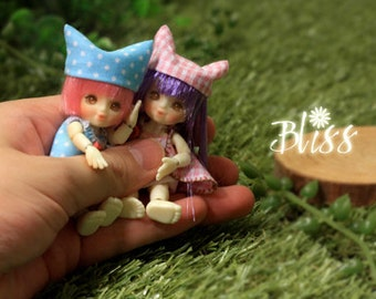Bliss---6.5cm Micro BJD Thumb (a whole set)
