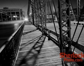 Sixth Street Bridge at Night - Image 02013