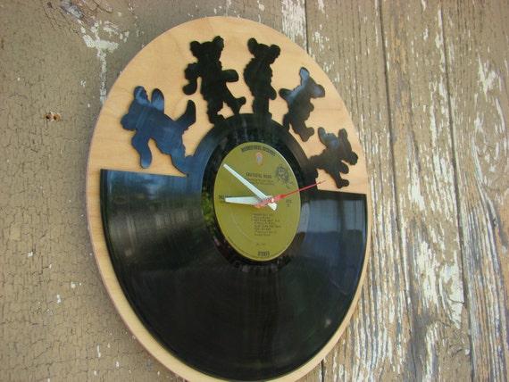 Re Purposed Recycled Vinyl Record Grateful Dead Vinyl