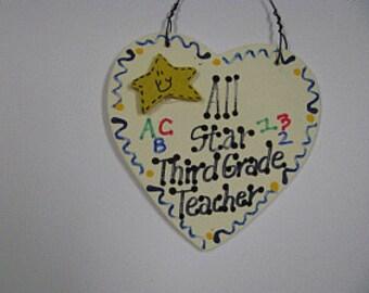 Teacher Gifts  5004 All Star Third Grade Teacher