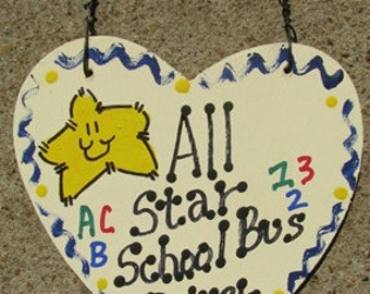 Teacher Gifts All Star School Bus Driver