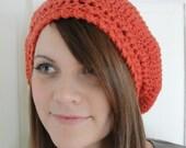 Easy CROCHET PATTERN Hat Women Slouchy Beret Slouchy Hat Crochet Pattern The JULIANA