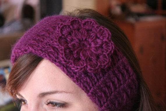 Stirnband häkeln Muster Frauen Hut PDF schöne Blume im