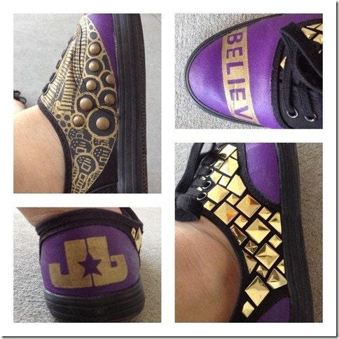 justin bieber shoes custom