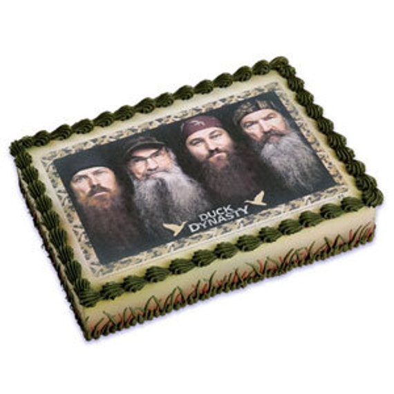 Duck Dynasty Edible Image Cake Topper by ABirthdayPlace on ...