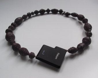 Purple Borgbead Necklace