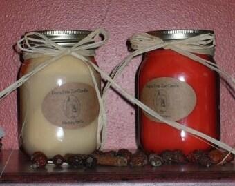 Prim Jar Candles
