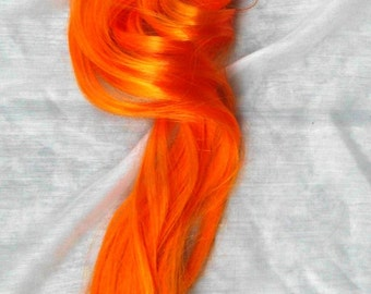 Orange Unicorn Horse My Little Pony Tail Cosplay Costume MLP