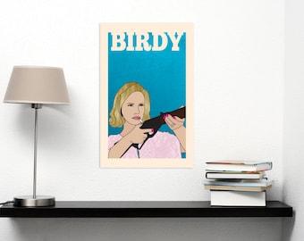Betty Draper Mad Men - Poster Wall Art DIY Printable