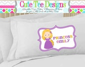 Pillowcase - Princesses - Choose from 4 different designs