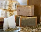 1 bar Honey, I Do: natural, handmade soap with honey, beeswax, & orange tea