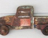Rusty Little Farm Truck, Auto Collection