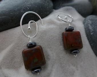 Czech Glass Earrings