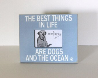 Coastal pets, beach frame, coral, beach sign, beach decor, distressed wood sign, coastal decor, beach house