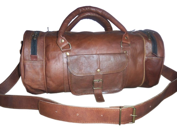 Travel Leather Baggage