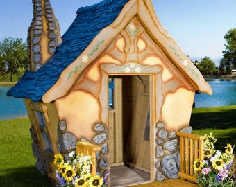 Storybook Cottage Playhouse