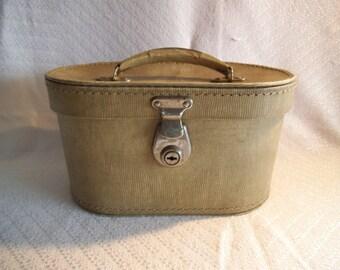 Stylish Retro 1960's Vanity Case/Bag For Restoration