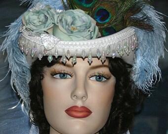 Victorian Riding Hat Steampunk Hat SASS Hat - Spirit of Deadwood V