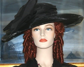 Kentucky Derby Hat Downton Abbey Hat Titanic Hat - Lady Rose