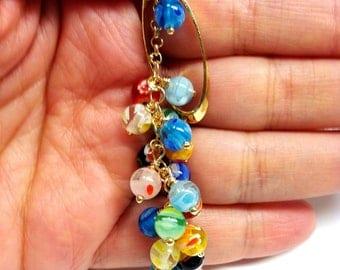Milifiori lariat necklace